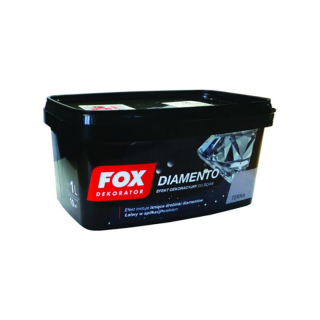 DEKORATIVE STRUKTURFARBE FOX DIAMENTO  1 L